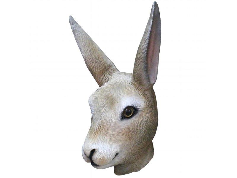 Latex rabbit mask