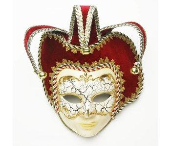 Venetiaans masker 'Jolly Joker Titian'