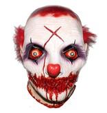 Killer clown masker met dichtgenaaide mond