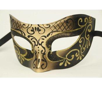 Venetiaans masker 'Princessa' (goud)