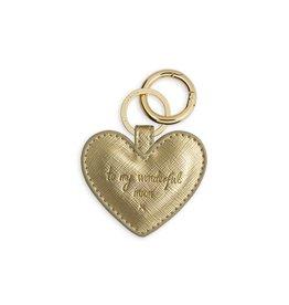 Katie Loxton Sleutelhanger Metallic Gold