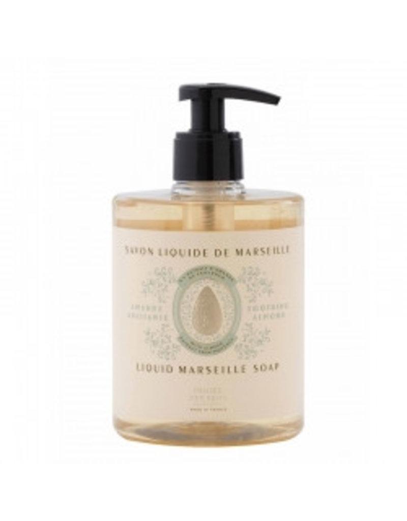 Panier des Sens Marseille zeep 'Almond' 500 ml