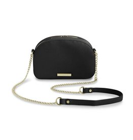 Katie Loxton Half Moon Bag Black