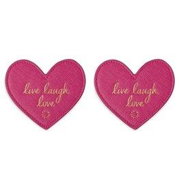 Katie Loxton Onderzetters 'Live Laugh Love'