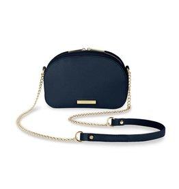 Katie Loxton Half Moon Bag Navy