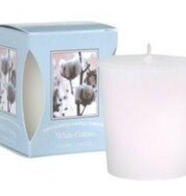 Bridgewater 15 hour Candle White Cotton