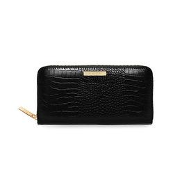 Katie Loxton Celine croc portefeuille - Black