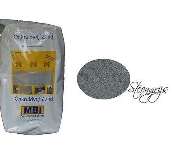 Onkruidvrij voegzand Steengrijs 20 kg MBI