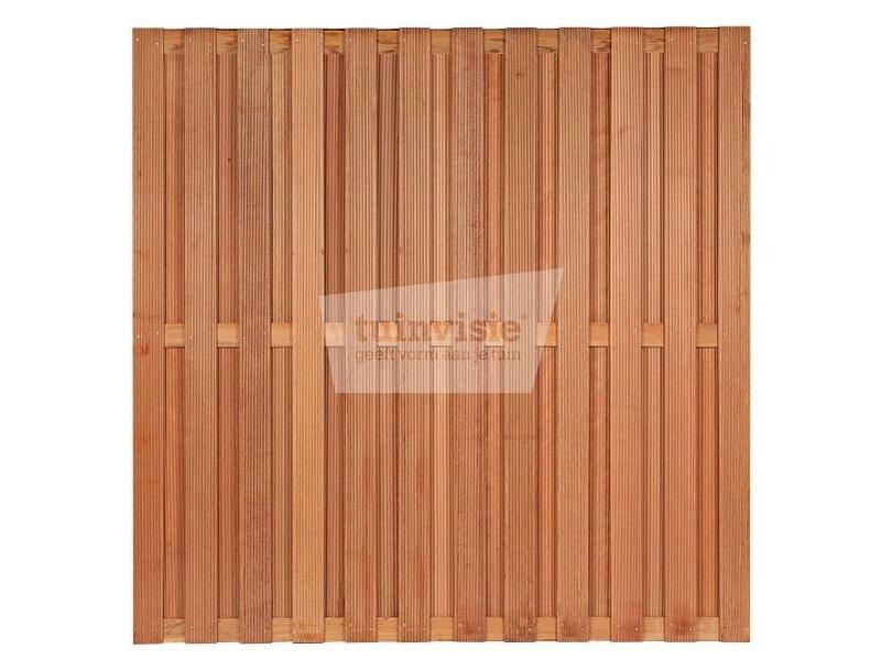 Hardhouten scherm Santos 180x180 cm