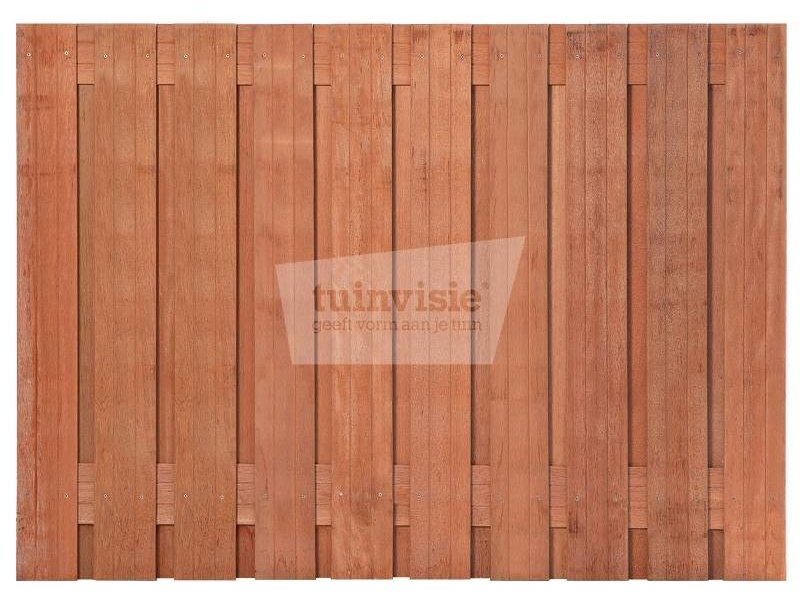 Hardhouten scherm Pelotas 130x180 cm