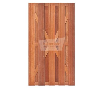 Hardhouten deur Salvador