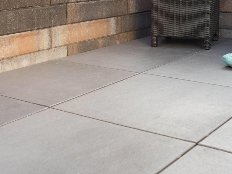 Gecoate Terrastegels 60x60.Intensa Verso Indigo Grey Terrastegels 60x60 4 Cm