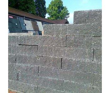 Brickwall Geknipt Zwart 30x10x6 cm