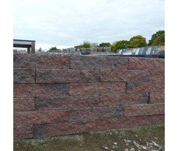 Brickwall Geknipt Oud Bont 30x10x6 cm