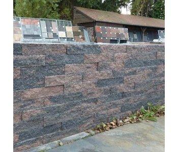 Brickwall Geknipt Brons 30x10x6 cm