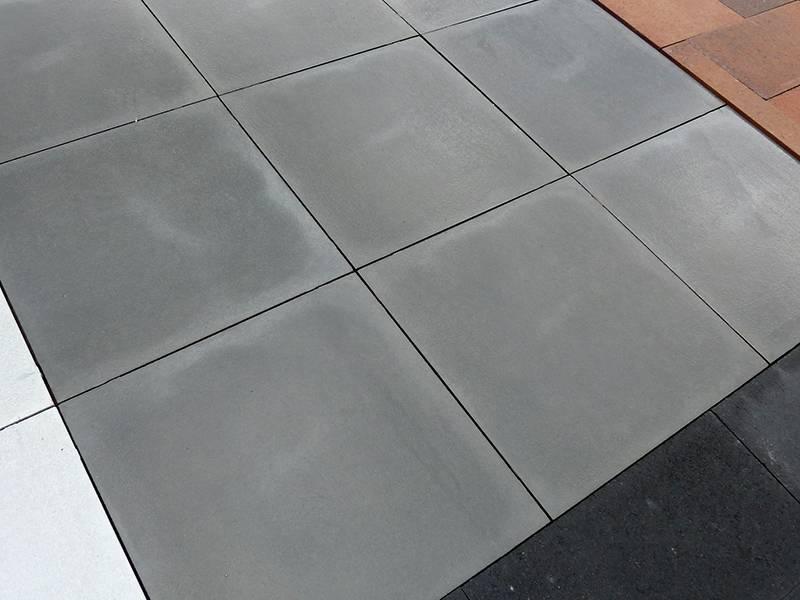 Gecoate Terrastegels 60x60.Furora Premium Vlak Grafiet Gecoat 60x60x4 Cm