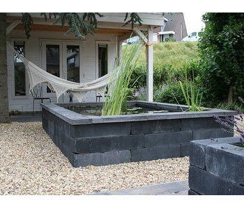 Wallblock Old Antraciet