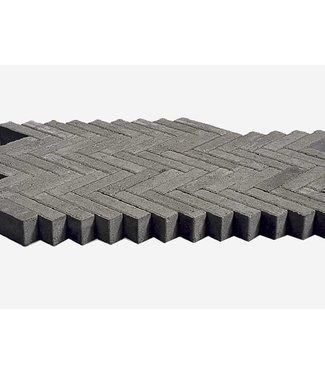 Waalformaat Grijs Facet 20x5x7 cm