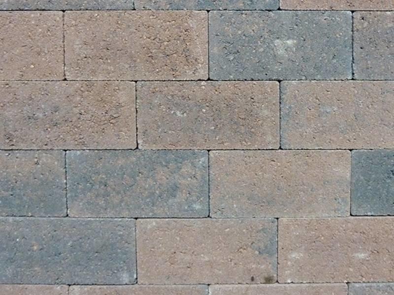 Keiformaat Bruin/zwart strak 21X10,5x7 cm