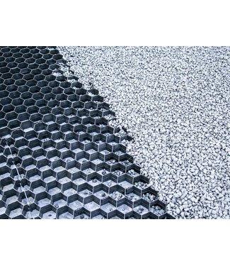 Split/Grindplaat Zwart 1.92 m2 en 3 cm dik