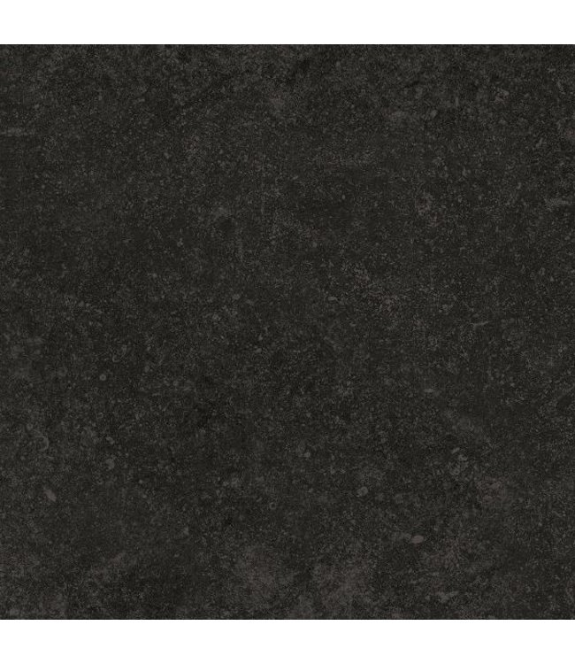 Cerasolid Cloudy Black Keramische Buitentegel 60x60x3