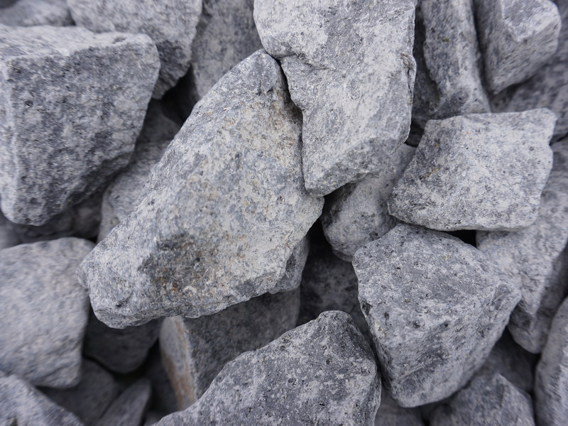 Basalt split antraciet 30-60 mm
