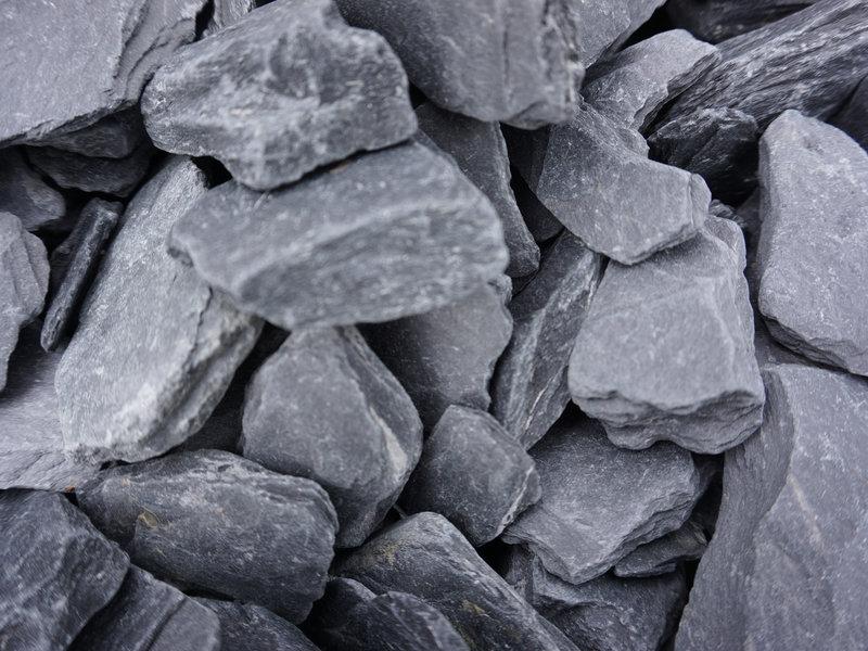 Canadian Slate zwart 30-60 mm