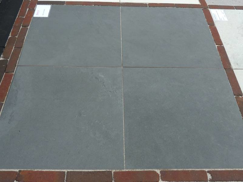 Keramische Terrastegels Torino Antraciet 60x60x2 cm