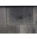Vlaksteen Grijs/Zwart voor het terras 30x20x4 cm