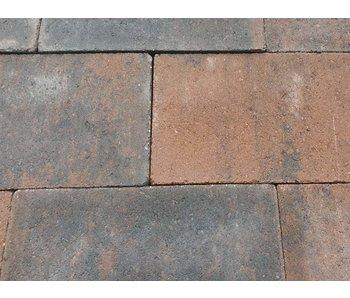 Trommelsteen bruin/zwart 42x21x7