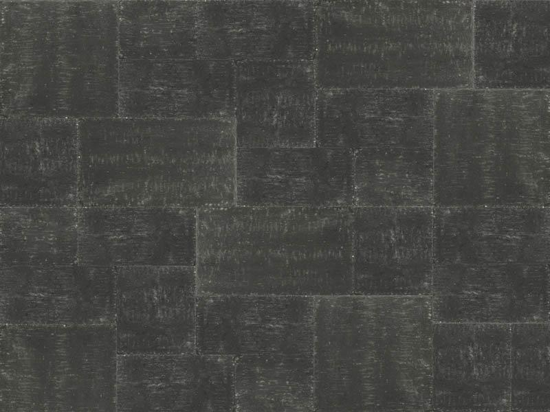 Abbeystones wildverband 6 cm getrommeld nero