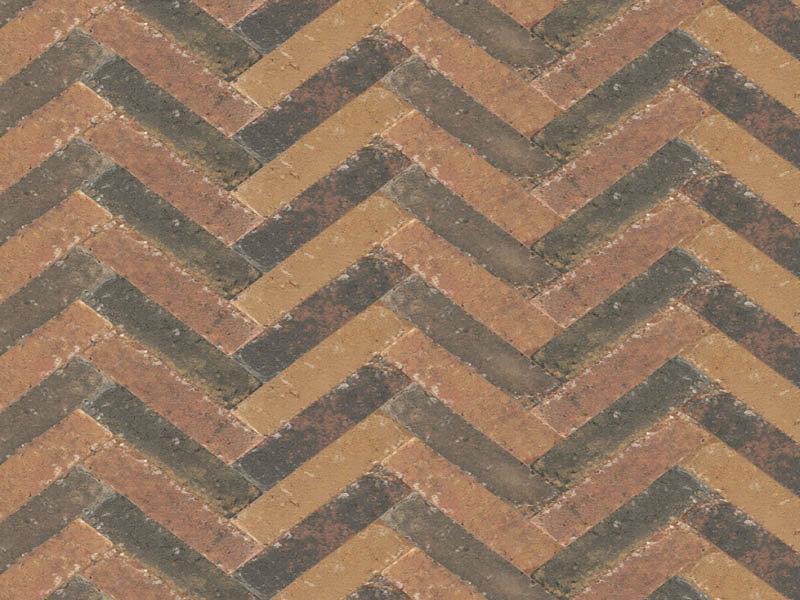 Abbeystones Waalformaat Zomerbont 20x5x7