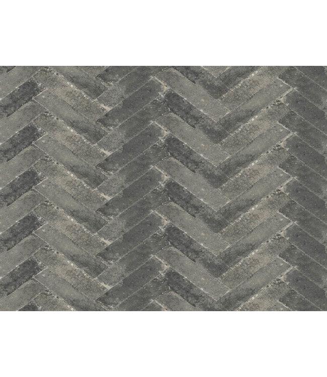 Abbeystones Waalformaat Grijs/Zwart 20x5x7