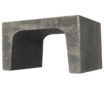 U-element Antraciet 40x40x50 cm