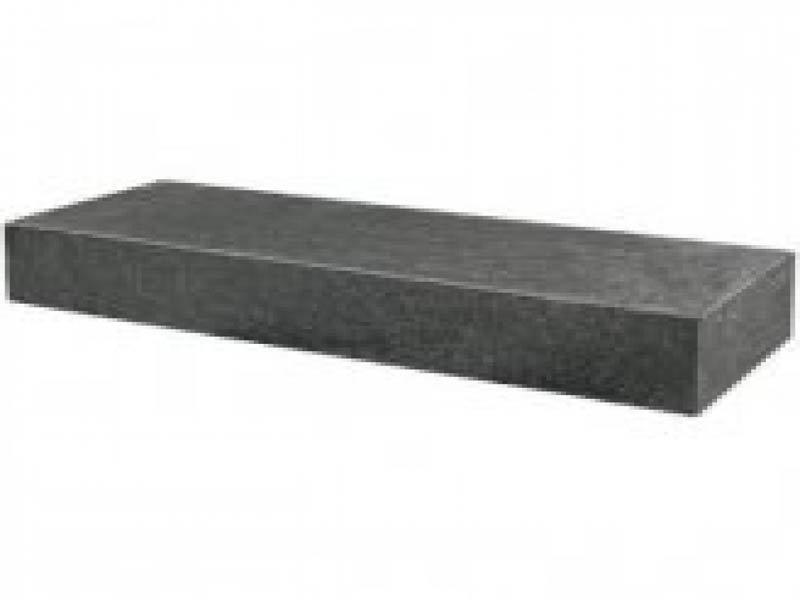 Traptrede Grijs 18x40x100 cm