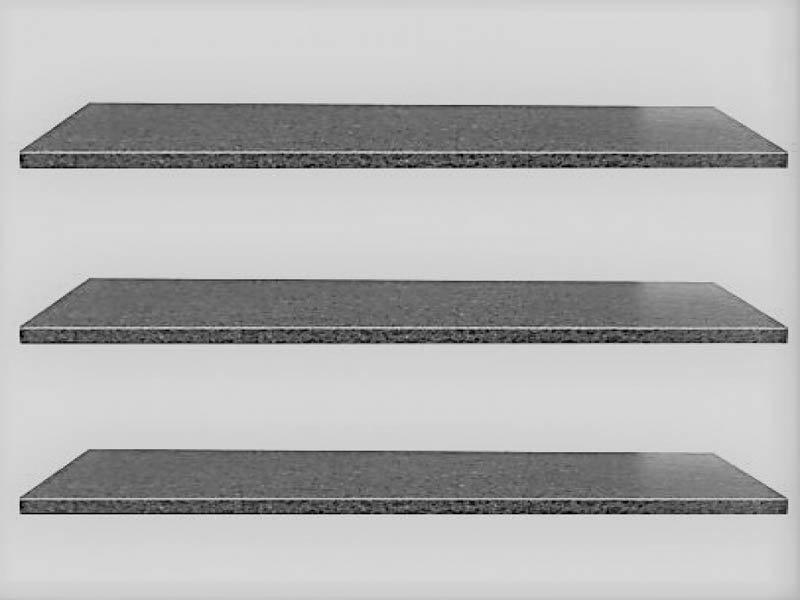 Vijverrand black (6 zijdes gezoet, 8 facetranden)