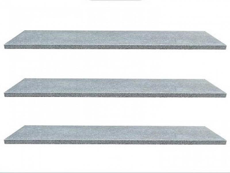 Vijverrand Dark Grey (6 zijdes verzoet, 8 facetranden)