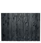 Roermond scherm 130x180 cm zwart gespoten