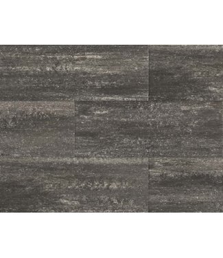 Grijs/zwart 50x100x4 cm