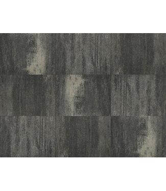 Terrasverband+ Wildverband 4 cm Grijs/zwart