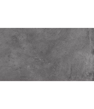 Keramische tegel Kl Ultra Gare Graphite 45x90x3cm cm