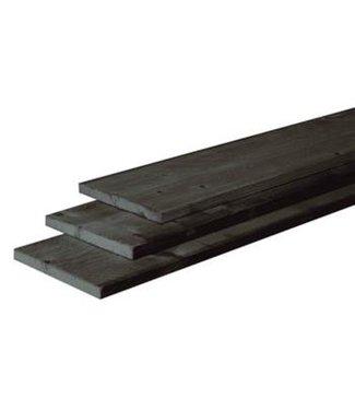 Fijnbezaagde plank Douglas antraciet