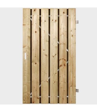 Breda deur op stalen frame
