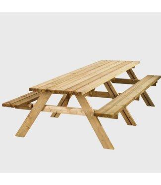 Zachthouten picknicktafel Wormer