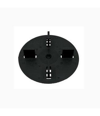 Afstandhouder 3 mm zwart 15 mm hoog