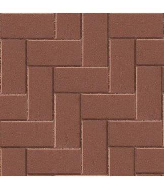 Betonklinker BSS Rood met deklaag 21x10,5x8 cm