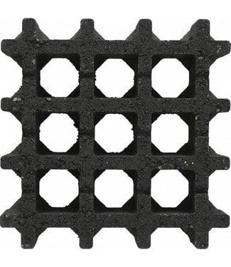 Aquadrain tegel Nero 30x30x8 cm