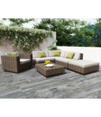 Ibiza Wood Grigio Geoceramica 120x30x4 cm
