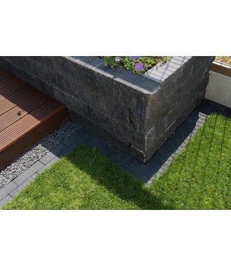 Wallblock split Antraciet 40x10x10cm