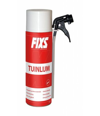 Fixs PU Tuinlijm 500 ml incl spuit